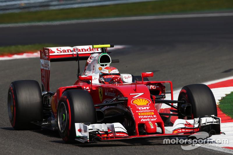 9. Kimi Räikkönen, Ferrari SF16-H