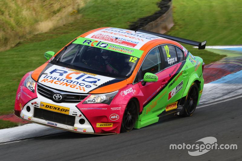 Michael Epps, RCIB Insurance Racing