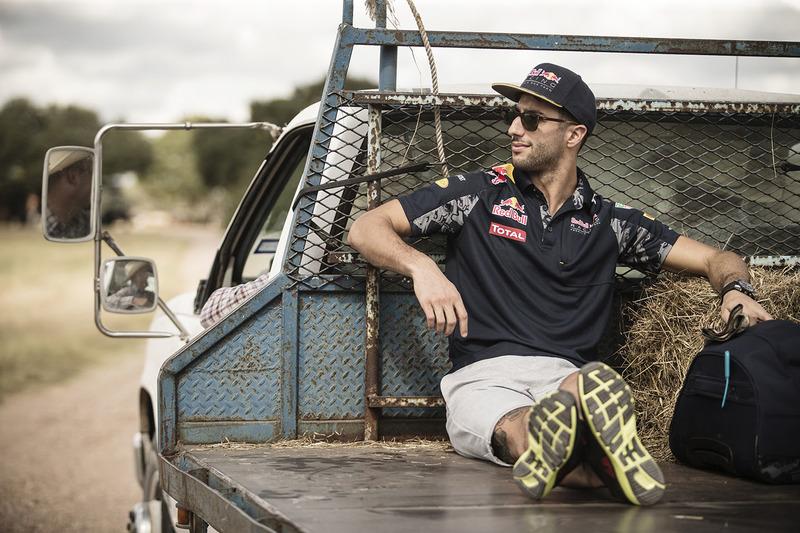 Daniel Ricciardo, Red Bull Racing dans une ferme à Austin