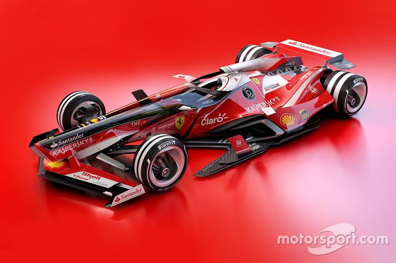 Ferrari 2030 diseño fantasy