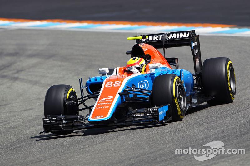 19: Rio Haryanto, Manor Racing MRT05