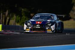 #114 Emil Frey Lexus Racing Lexus RC F GT3: Stéphane Ortelli, Norbert Siedler, Markus Palttala