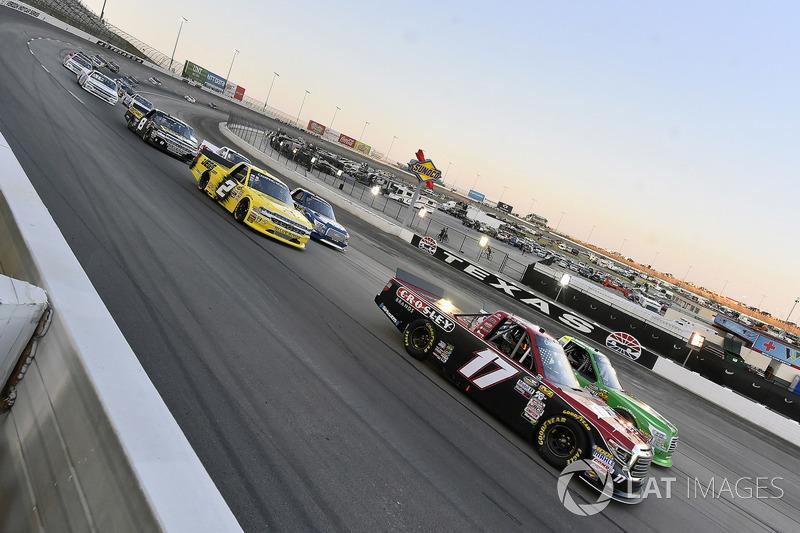 Bo Le Mastus, DGR-Crosley, Toyota Tundra Crosley Brands and Cody Coughlin, GMS Racing, Chevrolet Silverado Jeg's.com