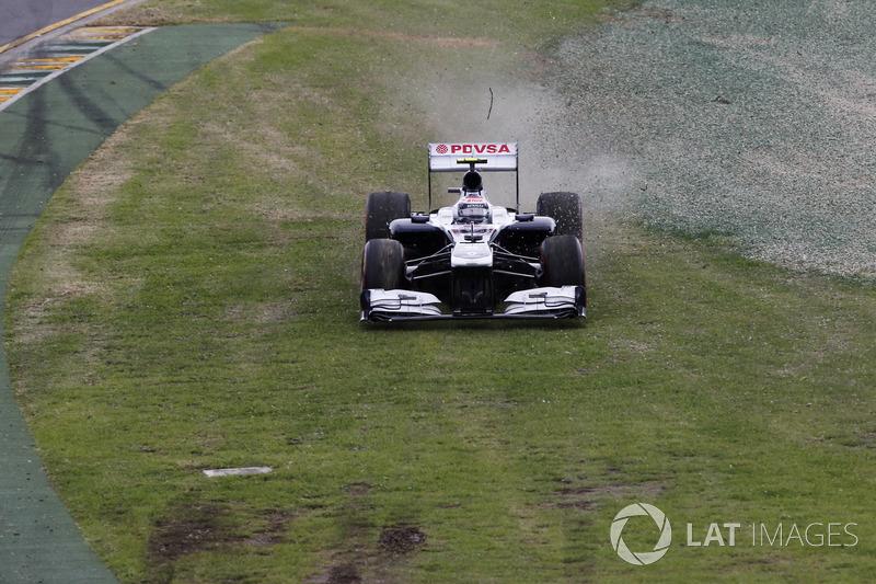 Valtteri Bottas - GP de Australia 2013 (º)