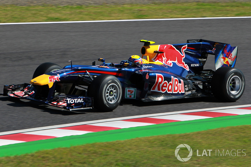 2010 : Red Bull RB6, à moteur Renault