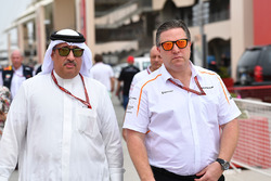 Sheikh Mohammed bin Essa Al Khalifa, CEO of the Bahrain Economic Development Board and McLaren Share