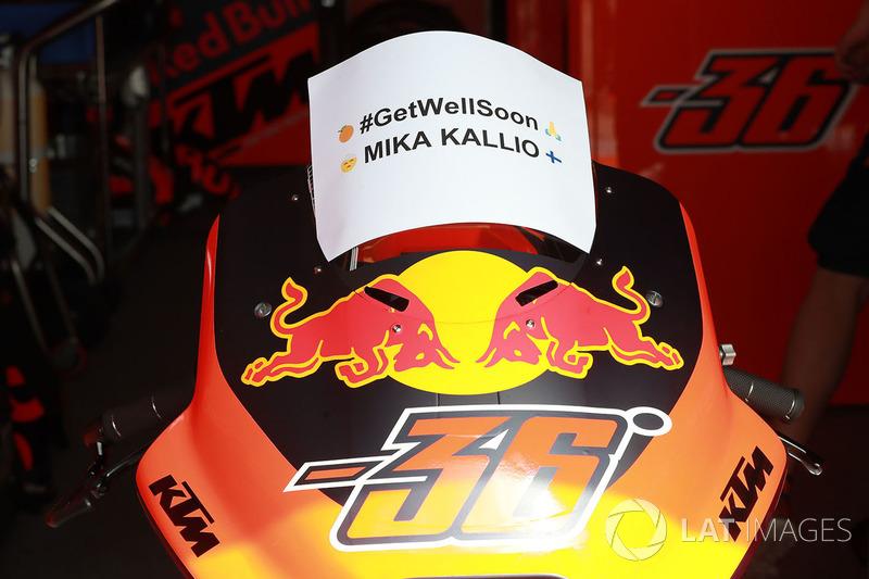 Mika Kallio, Red Bull KTM Factory Racing (3 kecelakaan)