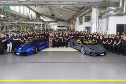 Lamborghini production milestone