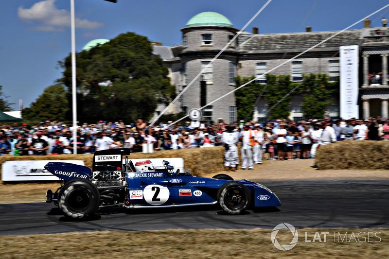 Jackie Stewart Tyrrell