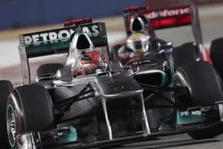 Михаэль Шумахер, Mercedes AMG F1, Льюис Хэмилтонn, McLaren