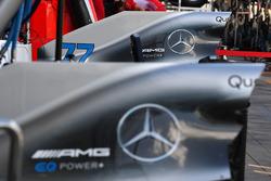 La carrosserie de la Mercedes-AMG F1 W09