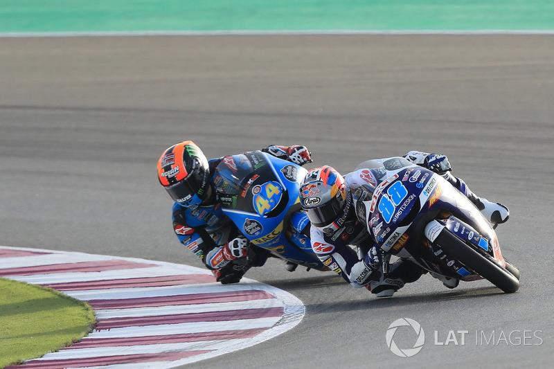 Jorge Martin, Del Conca Gresini Racing Moto3, Aron Canet, Estrella Galicia 0,0