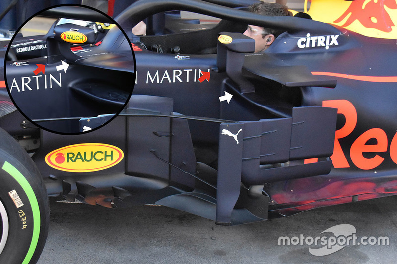 Дзеркало заднього виду Red Bull Racing RB14