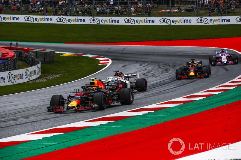 Hava koridoru hakkında, Riccardo, Verstappen ve Red Bull arasında geçen konuşma.