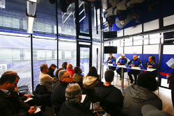 James Key, Technical Director, Scuderia Toro Rosso,Pierre Gasly, Scuderia Toro Rosso, Franz Tost, Team Principal, Scuderia Toro Rosso, Toyoharu Tanabe, F1 Technical Director, Honda