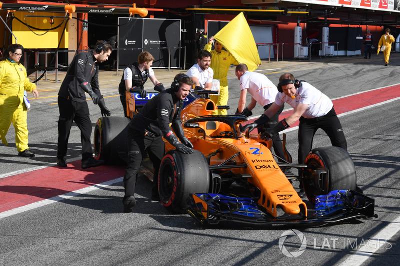 Автомобиль McLaren MCL33 Стоффеля Вандорна