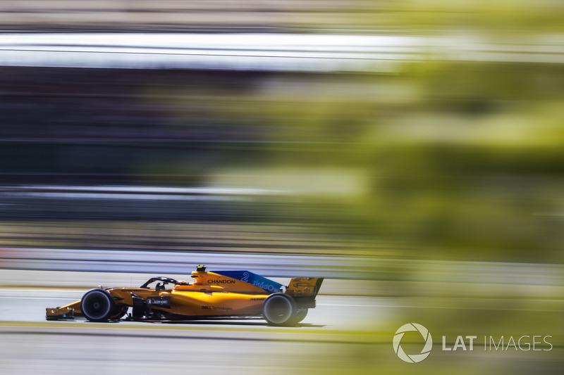 12. Stoffel Vandoorne, McLaren MCL33