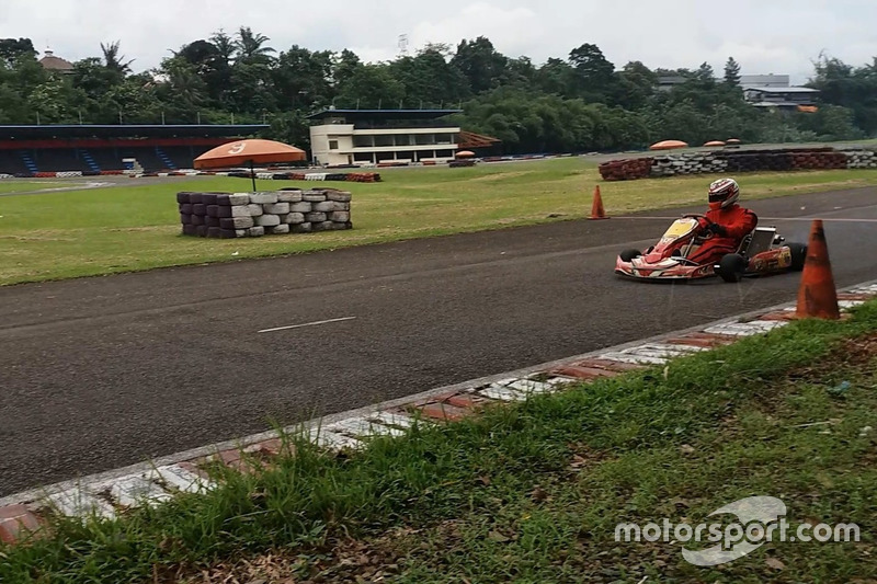 Latihan gokart, Sentul International Karting Circuit