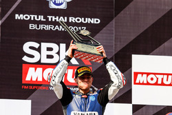 Podium : le vainqueur Federico Caricasulo, GRT Yamaha Official WorldSSP Team