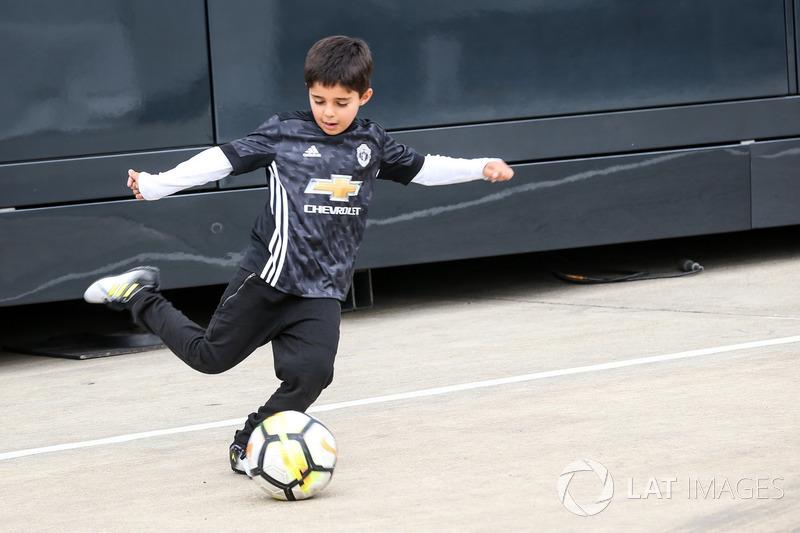 Felipinho Massa, Sohn von Felipe Massa