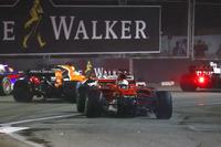 Данііл Квят, Scuderia Toro Rosso STR12, Фернандо Алонсо, McLaren MCL32, Кевін Магнуссен, Haas F1 Team VF-17, Себастьян Феттель, Ferrari SF70H