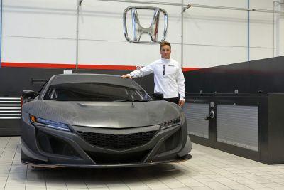 Honda NSX GT3 Macau açıklaması
