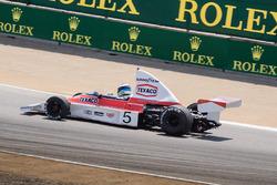 Mika Häkkinen drives a classic McLaren