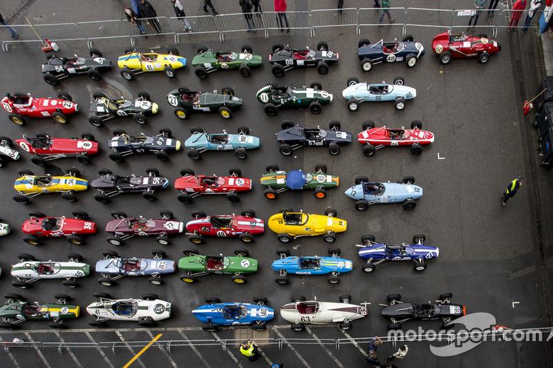 Historische Formel-Fahrzeuge