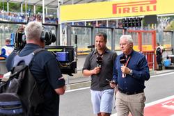Ted Kravitz, Sky TV and Pat Symonds