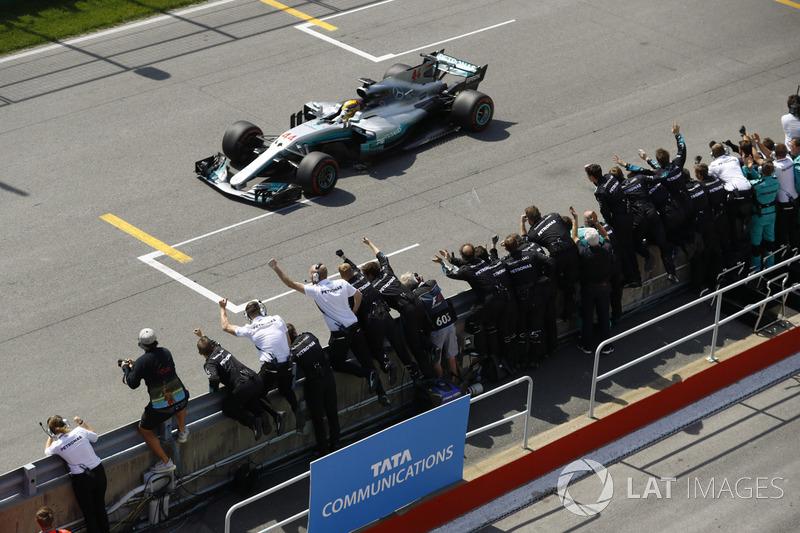 2017 Kanada GP: Lewis Hamilton, Mercedes AMG F1