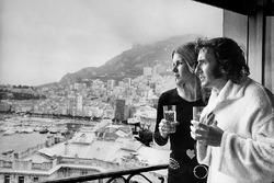 Джеки Стюарт со своей женой Хелен