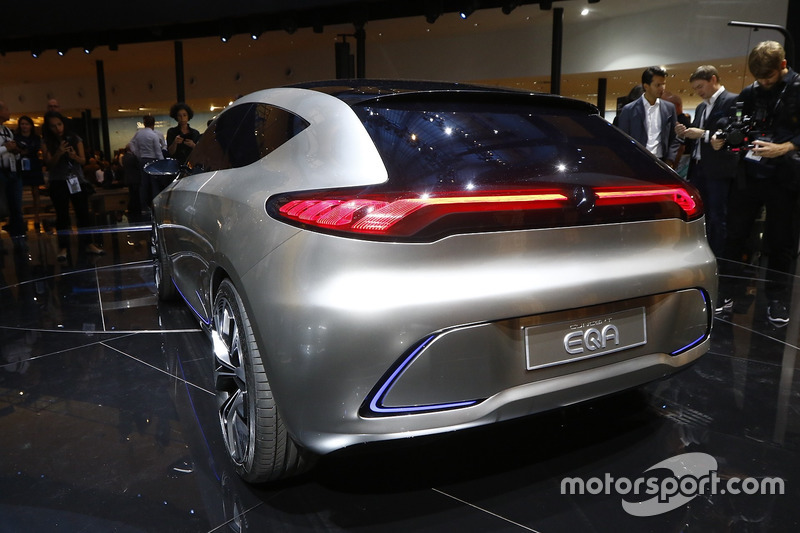 Mercedes-Benz Concept EQA at Frankfurt International Motor Show