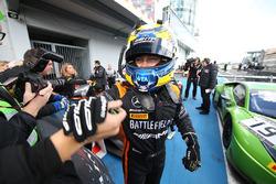 Il vincitore della gara Franck Perera