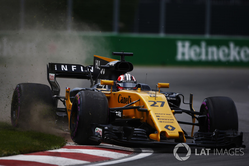 Ausritt: Nico Hulkenberg, Renault Sport F1 Team RS17