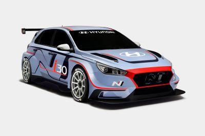 现代i30 TCR赛车发布