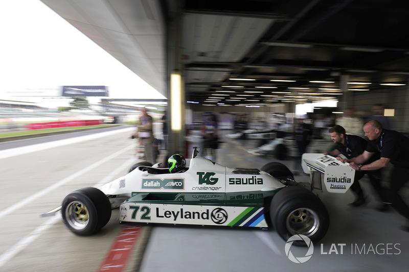 Williams FW07B Карлоса Рейтемана 1980 года