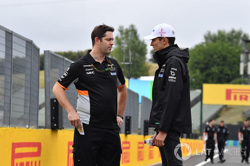 Естебан Окон, Force India F1