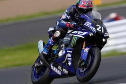 №21 Yamaha Factory Racing Team: Кацуюки Накасуги, Алекс Лоус, Михаэл ван дер Марк
