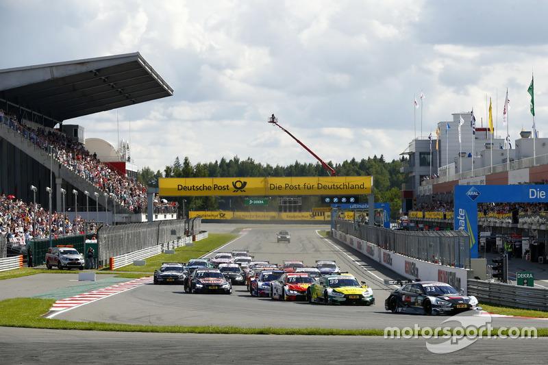 Arrancada René Rast, Audi Sport Team Rosberg, Audi RS 5 DTM líder