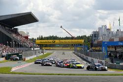 Départ : René Rast, Audi Sport Team Rosberg, Audi RS 5 DTM mène