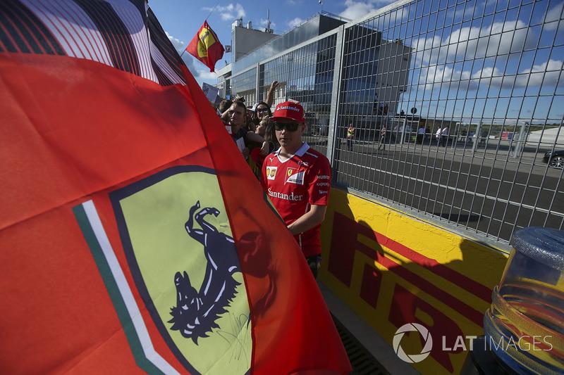 Кімі Райкконен, Ferrari