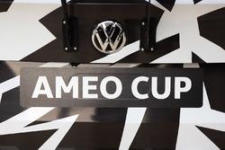 Volkswagen Ameo Cup logo detail