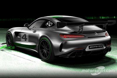 Anuncio Mercedes-AMG GT4