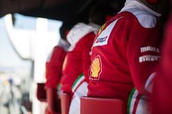 Пит-уолл Ferrari