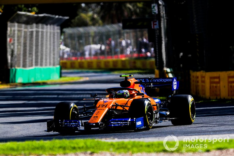 Ландо Норріс, McLaren MCL34