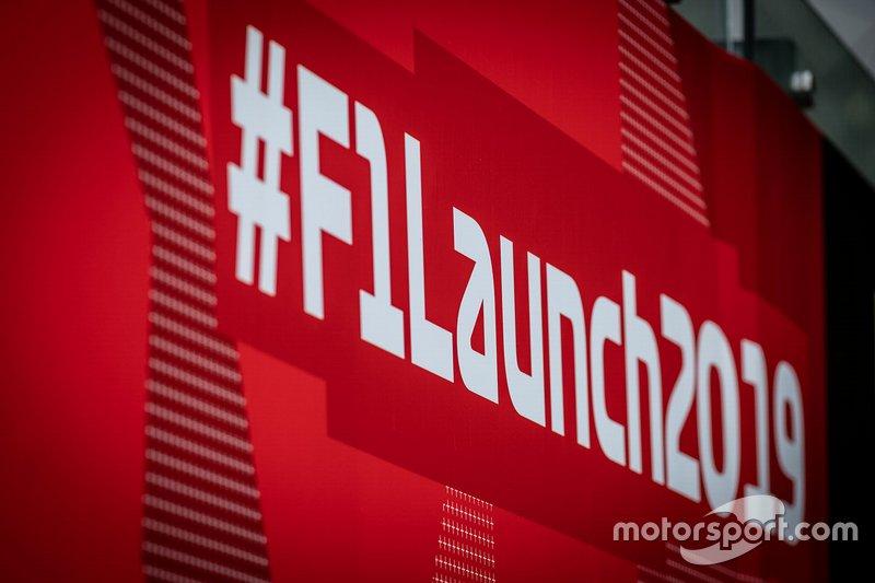 Hashtag F1 launch 2019