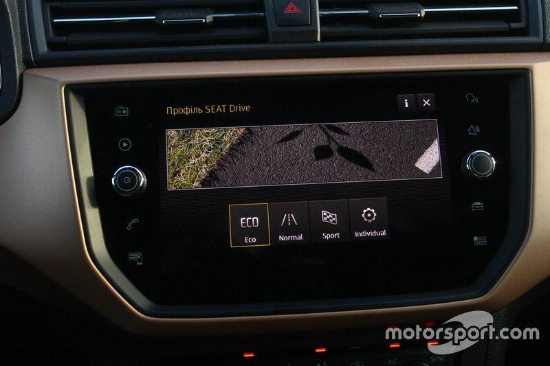 Система SEAT Drive Profile опція, але досить доступна – 3031 грн.