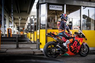 Miguel Oliveira, Red Bull KTM Factory Racing en el Gleinalmtunnel