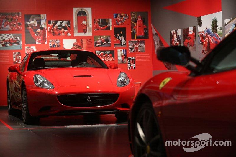 La mostra 'Michael 50' al Museo Ferrari di Maranello