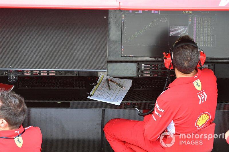 Muretto box Ferrari